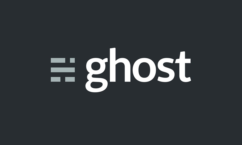 Ghost is awesome
