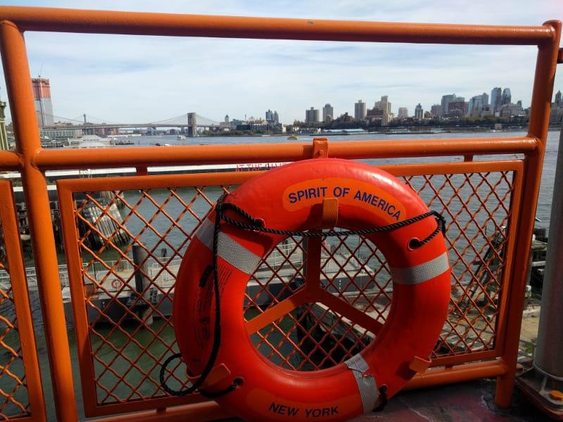The Staten Island ferry