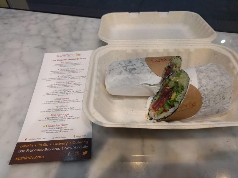 Sushiritto - A sushi burrito!