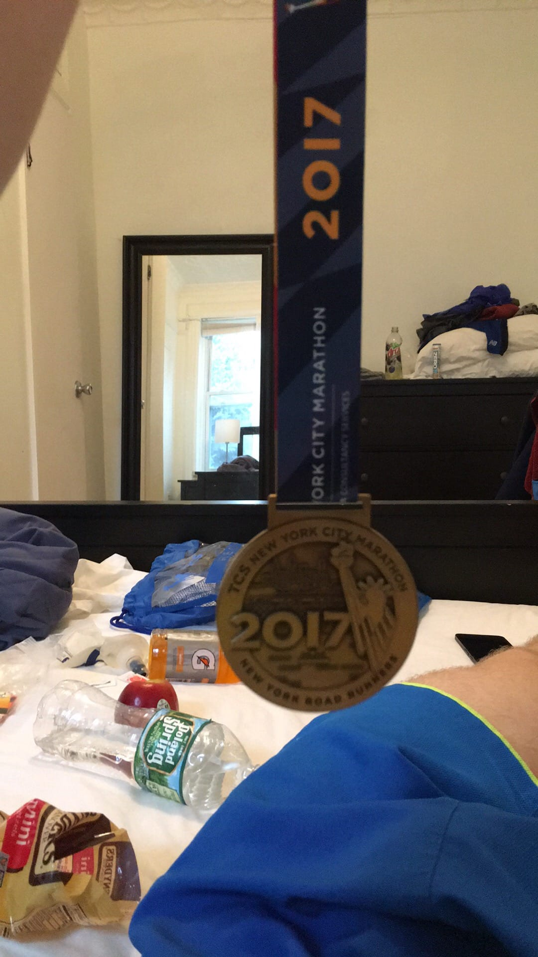 My NYC Marathon medal