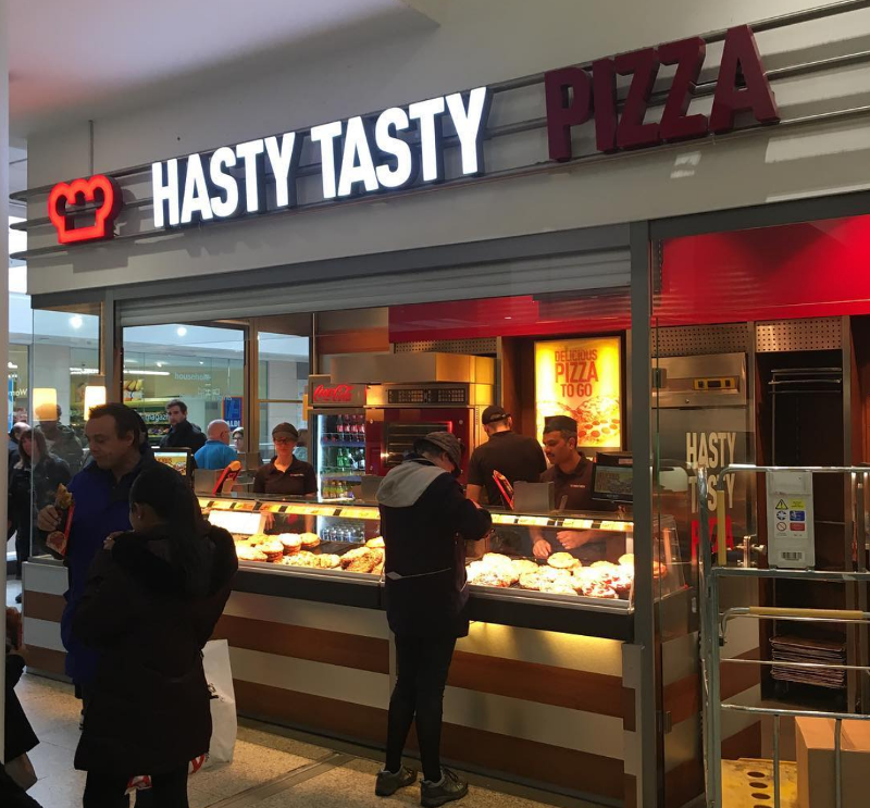 Hasty Tasty Pizza !