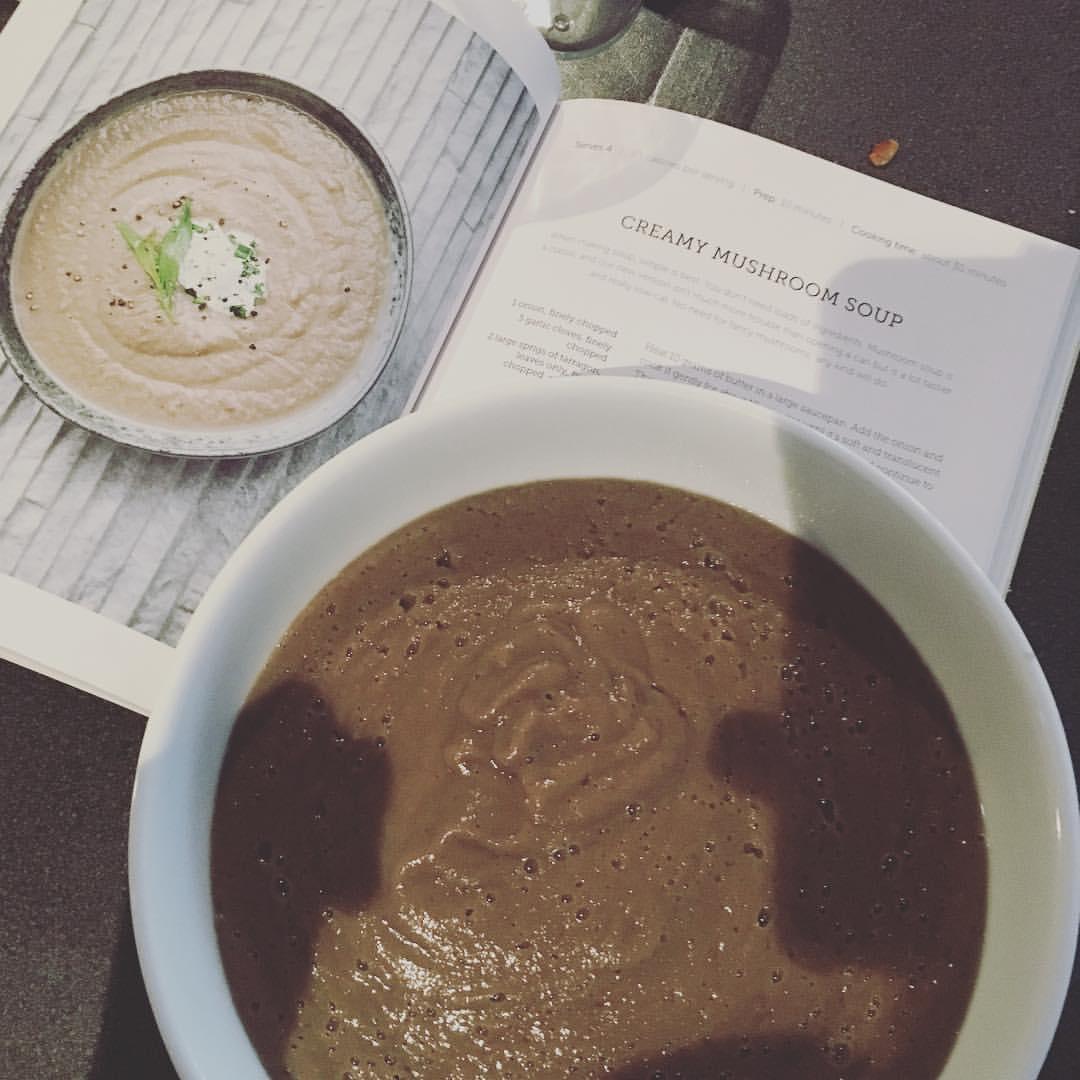 #cookingwithtom mushroom soup