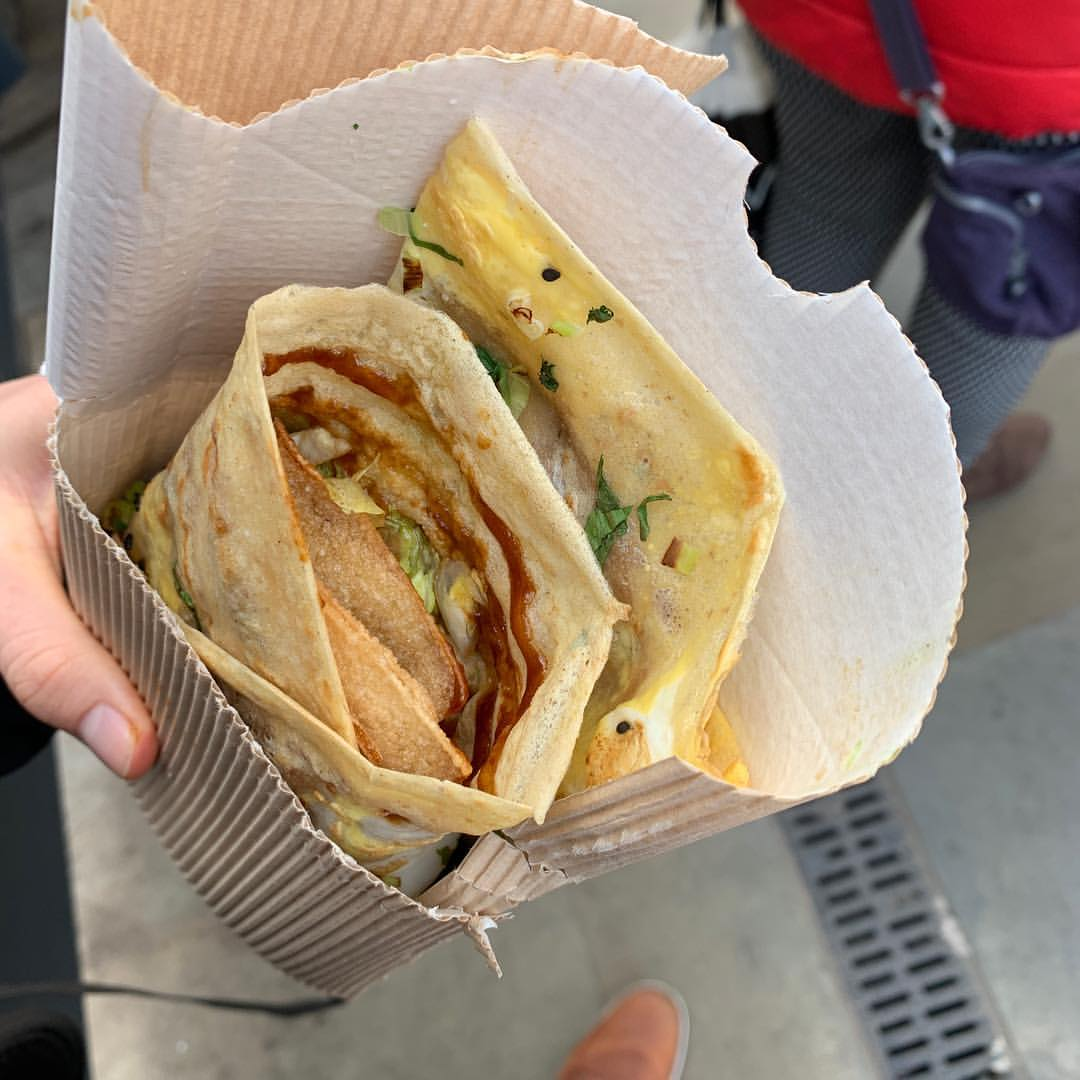 And #jianbing is obviously the best street food in #Manchester #manchesterfood #streetfood