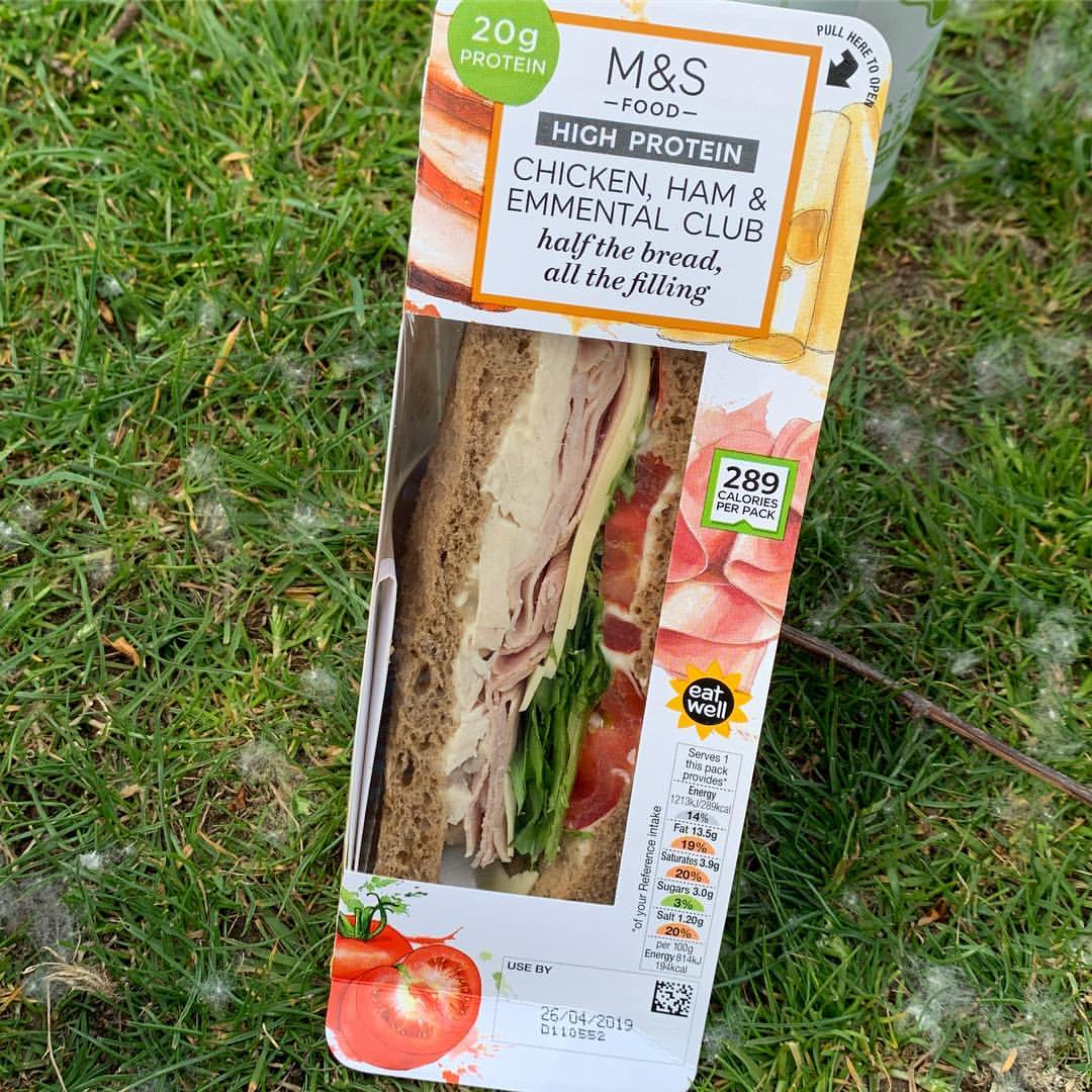The amount of money supermarkets spend on product development yet it's taken this long for this masterpiece?! Well played @marksandspencer #genius #breadsucks #nutrition