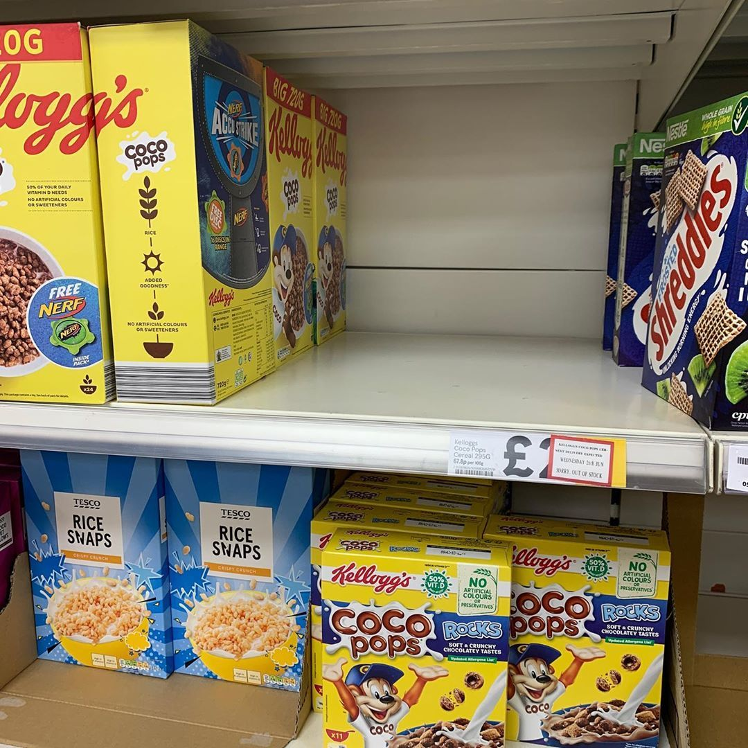 That feeling when they've already sold out of white chocolate coco pops :( @kelloggs