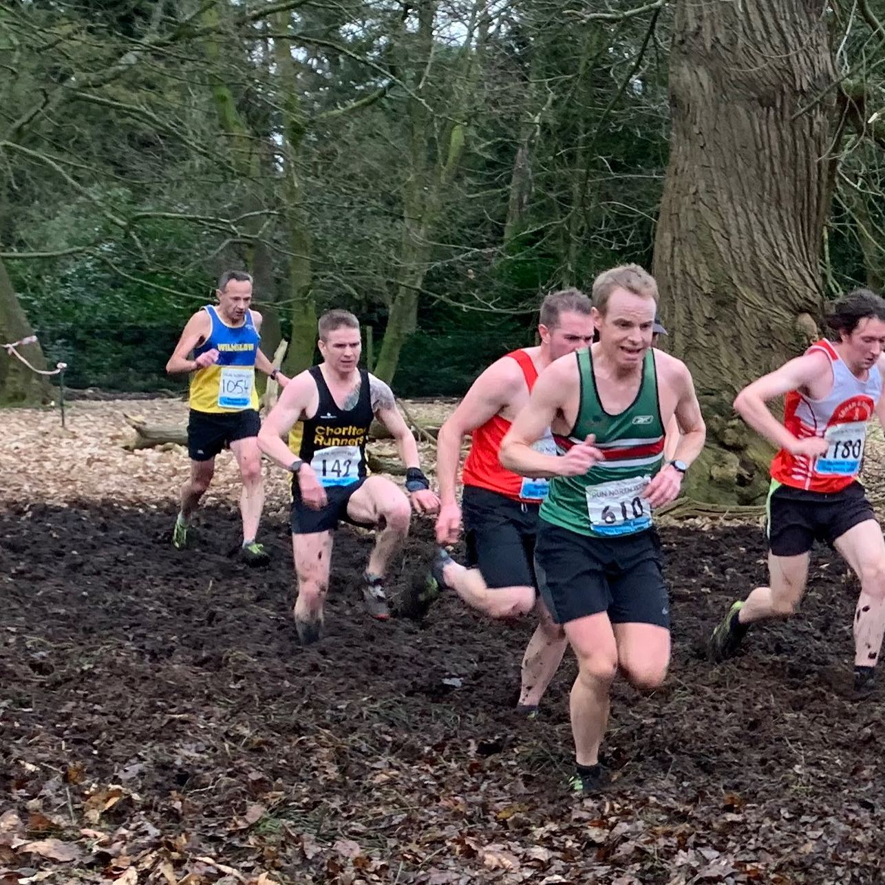 Tatton Park XC with Chorlton Runners #running #muddy #crosscountry #xc