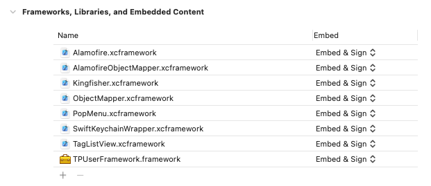 Extracting reused components to a Framework on both Android and iOS.